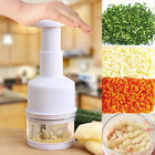Kitchen Pressing Food Chopper Cutter Slicer Peeler Dicer Vegetable Onion Garlic
