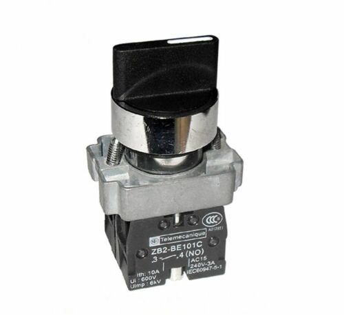 2Pcs ON//OFF Twist 2 Position Selector Switch SN-T
