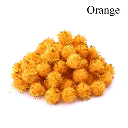 Supplies Pompom Hair Root Glitter Plush Ball Toys Accessaries Party Decorations