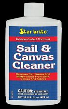STAR BRITE NEW Sail & Canvas Cleaner 475ml Boat Covers Tent Bimini Fabrics