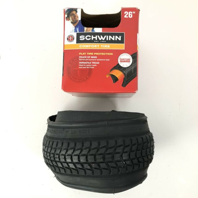 Schwinn Street Comfort Bike Tire with Kevlar Black, 26 x 1.95-Inch Hot Sale Fa