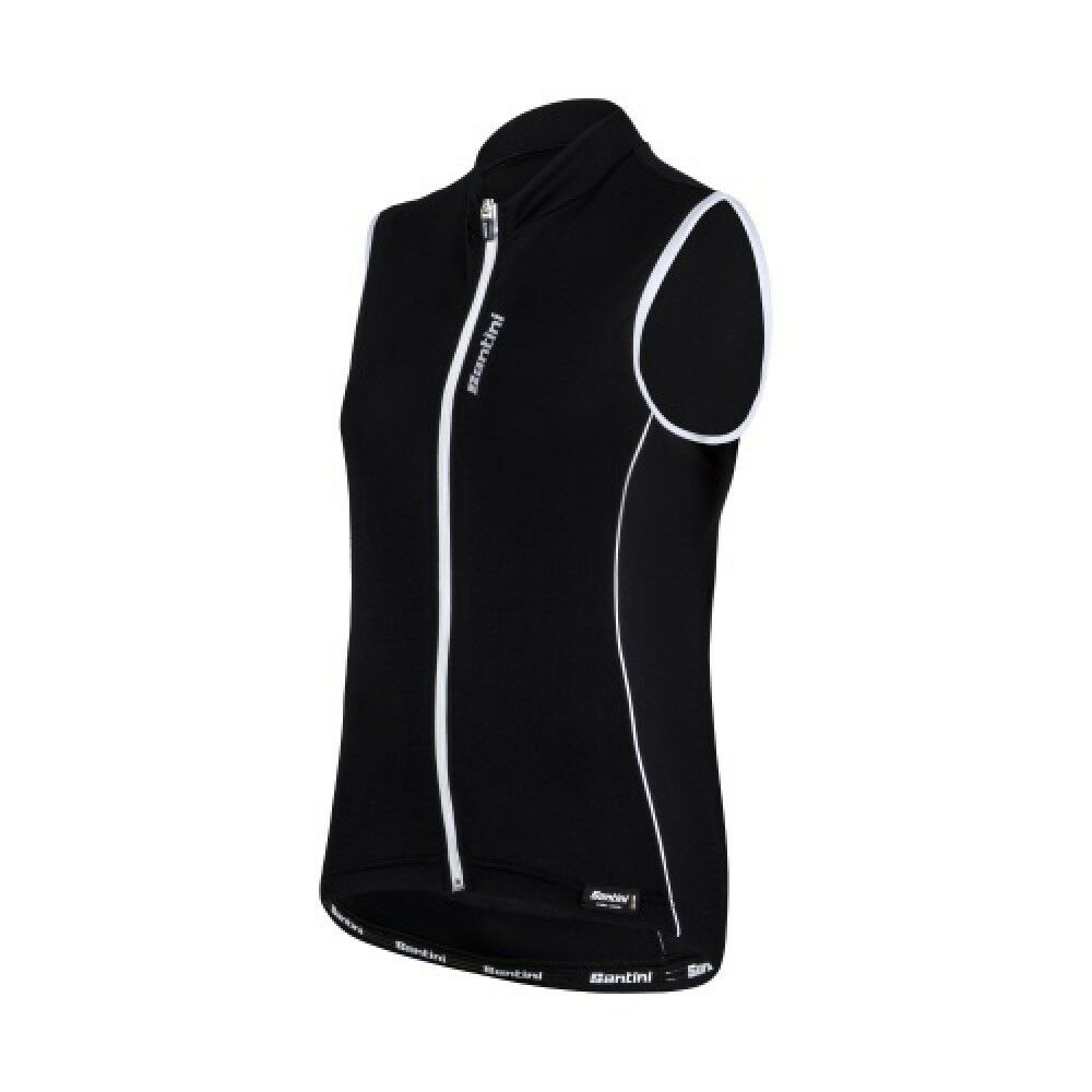 MAGLIA SMANICATA SANTINI ORA black  Size S  selling well all over the world
