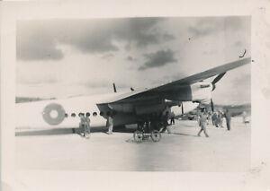 WWII-1945-USAAF-26th-BS-Okinawa-Airplane-Photo-RAF-aircraft