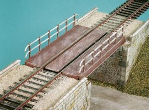 Wills 00 Gauge Plastic Model Railway Kit No SS49 Decked Girder Bridge