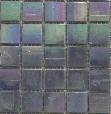 Gl 11 Purple Mosaic Tiles 20mm X