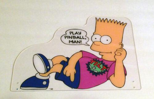 DATA EAST Simpsons Pinball Machine Topper NEW Direct UV Print /& Laser Cut