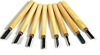 8pc Wood Carving Hand Woodworkers Tool Chisel Set