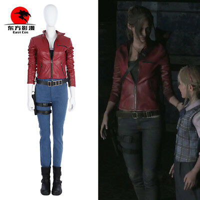 Dfym Game Resident Evil 2 Remake Cosplay Suits Claire Redfield