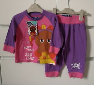 BNWT-IN-THE-NIGHT-GARDE-UPSY-DAISY-2-piece-pyjamas-girl-age-18-24-mths