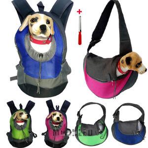 Pet Dog Cat Puppy Carrier Comfort Travel Tote Shoulder Bag Sling Backpack S//L