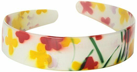 4 Caravan Four Color Strokes Bring This Flower To Life On This Medium Headband