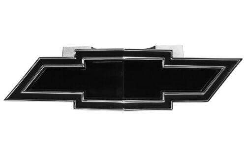 NEW Trim Parts 6765B 1969 Camaro Black Front Grille Bow Tie Emblem