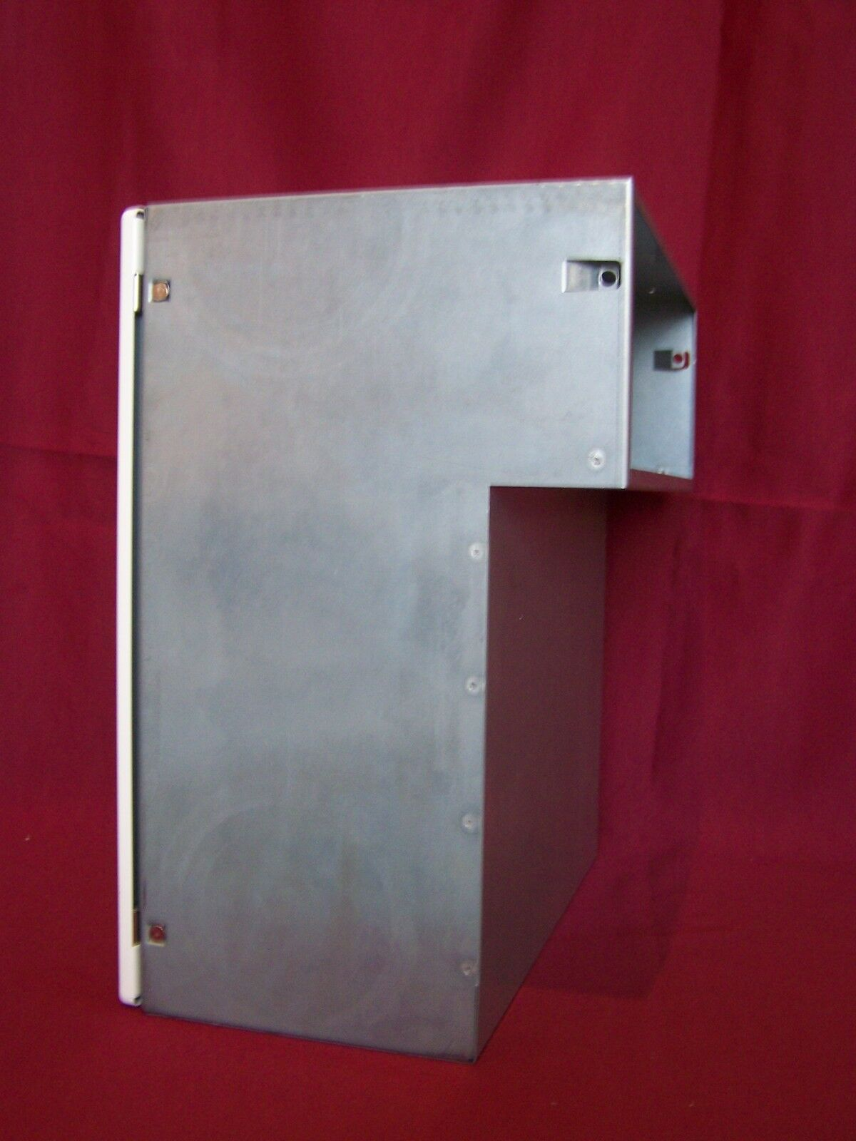 Mauerdurchwurf Briefkasten Renz weiß Fixtiefe 205 mm Durchwurf Post  MDH31