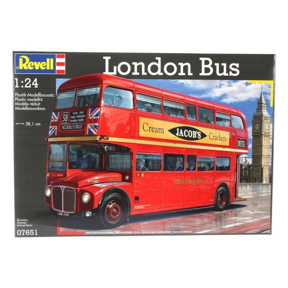 London Bus (Cars) Level 4 1 24 Scale Revell Kit