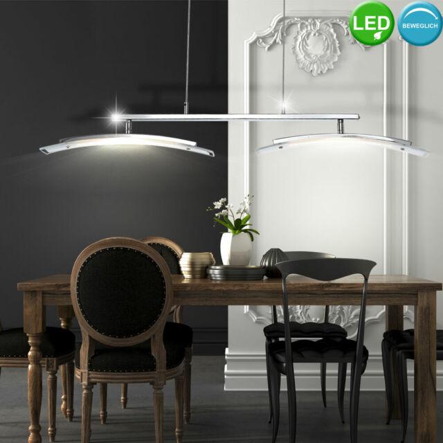 Led Esszimmer Hange Lampe Dimmbar Wohnzimmer Pendel Leuchte Glas Touch Dimmer Gunstig Kaufen Ebay