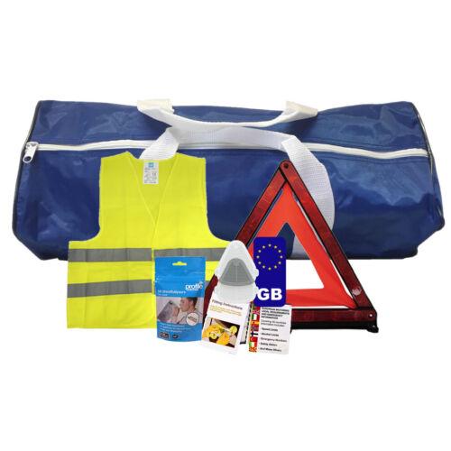 French Travel Kit - Motoring Kit - Safety Kit SILVER
