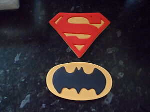 Miraculous Large Edible Boys Batman Superman Birthday Cake Topper Ebay Funny Birthday Cards Online Bapapcheapnameinfo