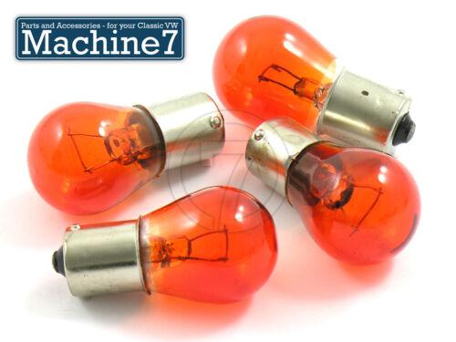 Classic VW Beetle Bulb Indicator Light Amber Bulbs 12V 21W Camper Bus Bug Set T1