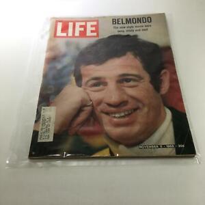 Life-Magazine-Nov-11-1966-Jean-Paul-Belmondo-The-New-Style-Movie-Hero