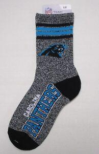 Carolina Panthers 4 Stripe Socks