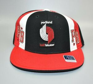 Portland-Trail-Blazers-NBA-Hardwood-Classics-Men-039-s-Fitted-Cap-Hat-Size-7-1-8