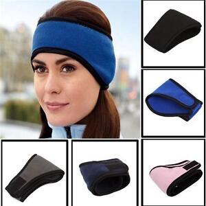 Winter Fleece Headband Warm Hat Ear Muff Warmer Ski Snowboard for Men Women US