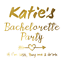 Custom-Bachelorette-Party-Golden-Tattoos-Hen-night-temp-tattoos-Team-Bride-Hen thumbnail 30