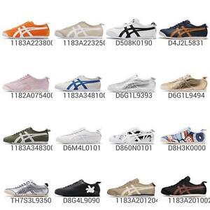 Asics Onitsuka Tiger Mexico 66 Citrus Orange White Men Women Shoes 1183A223-800