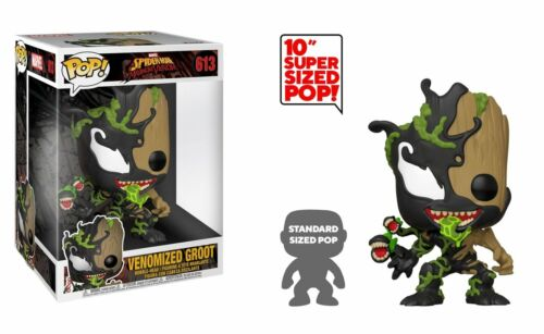 nouveau Pop! Marvel #613: Spider-Man maximum Venom Venomized Groot