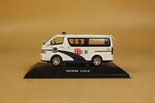 1/43 Toyota new hiace police car diecast model