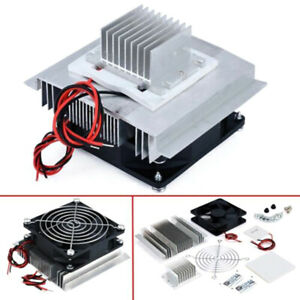 Details about TEC1-12706 Thermoelectric Peltier Module Water Cooler Cooling  System DIY Kit