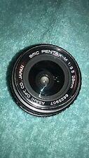 SMC Pentax-M 28mm 3.5 lens