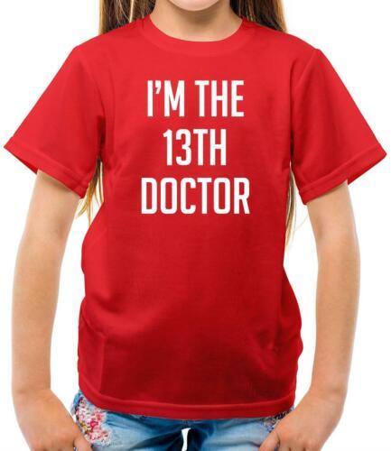 Merchandise Merch I/'m The 13th Doctor Fan Who TV Love Kids T-Shirt