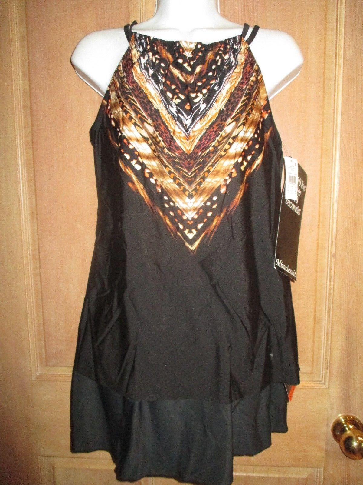 New Magicsuit Miraclesuit Tankini 8 38 Shoreline Swimsuit 2 Piece Skirt