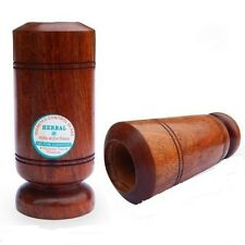 Wooden Herbal Glass Tumbler  Natural Vijaysar Wood For Sugar Diabetes Controller