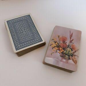 104-playing-cards-2-decks-no-jokers-craft-lot-52-card-each-deck-NO-JOKERS