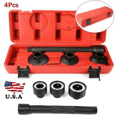 4Pcs Steering Rack Knuckle Tie//Track Rod End Axial Joint Remover Installer Tool Kit 30-45mm