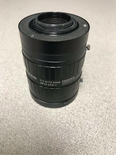 Fujifilm Fujinon HF12.5SA-1 High Resolution 12.5mm Len