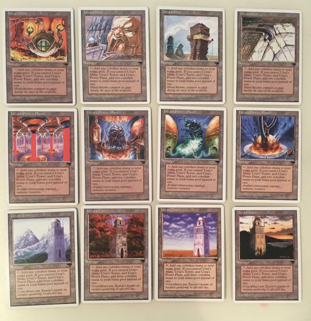 Fetch Lands all of the tron lands from chronicles magic the gathering mtg great  condition