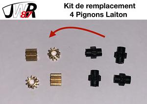 TGV-HJ-Jouef-Lima-Collection-Kit-de-Remplacement-4-Pignons-Laiton-Essieux