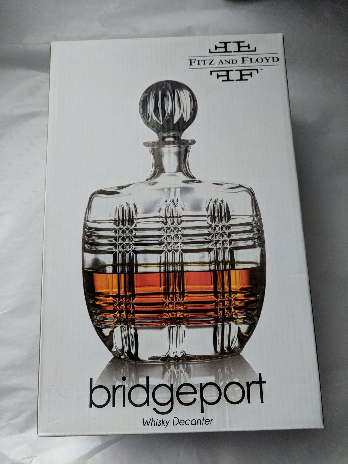Fritz and Floyd Bridgeport Whisky Decanter 23.7 oz gm1457