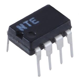 NTE Electronics NTE7144 IC BIMOS OP-AMP W//MOSFET INPUT//BIPOLAR OUTPUT 8-LEAD DIP