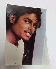 MICHAEL JACKSON 1980s POSTER PROMO STORE DISPLAY PHOTOGRAPH PHOTO PICTURE SMILE