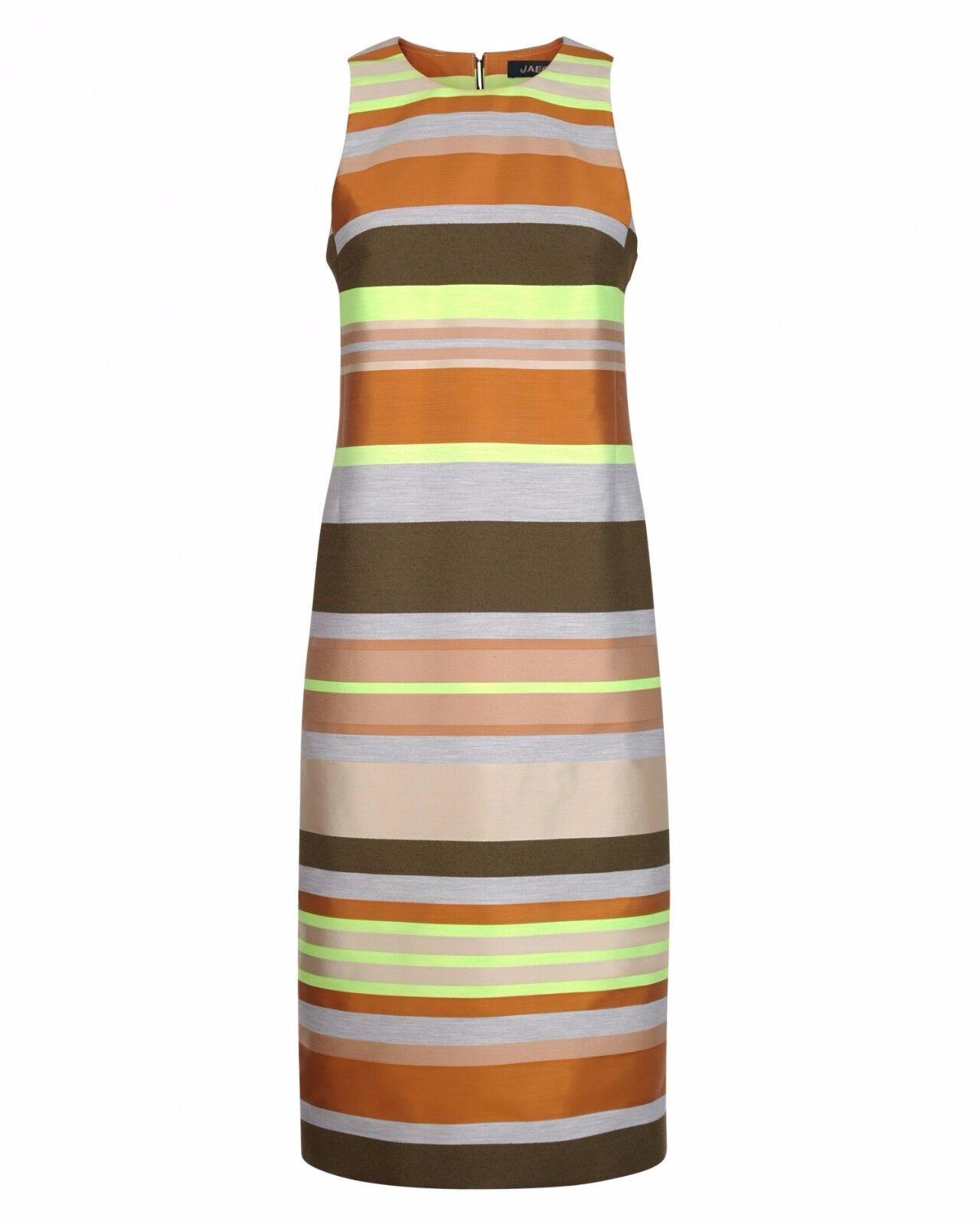 Jaeger Multi Stripe Column Dress Größe UK 14 rrp rrp rrp  DH172 AA 13 4d8334