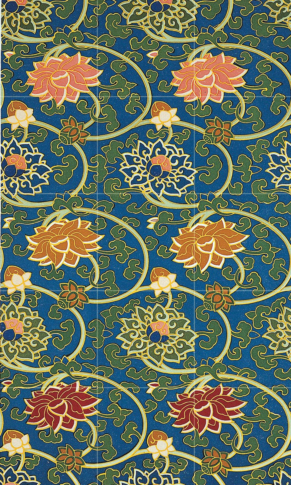 Art Oriental Flowers Ornament Kitchen Mural Ceramic Tiles Home Decor Tile  2515
