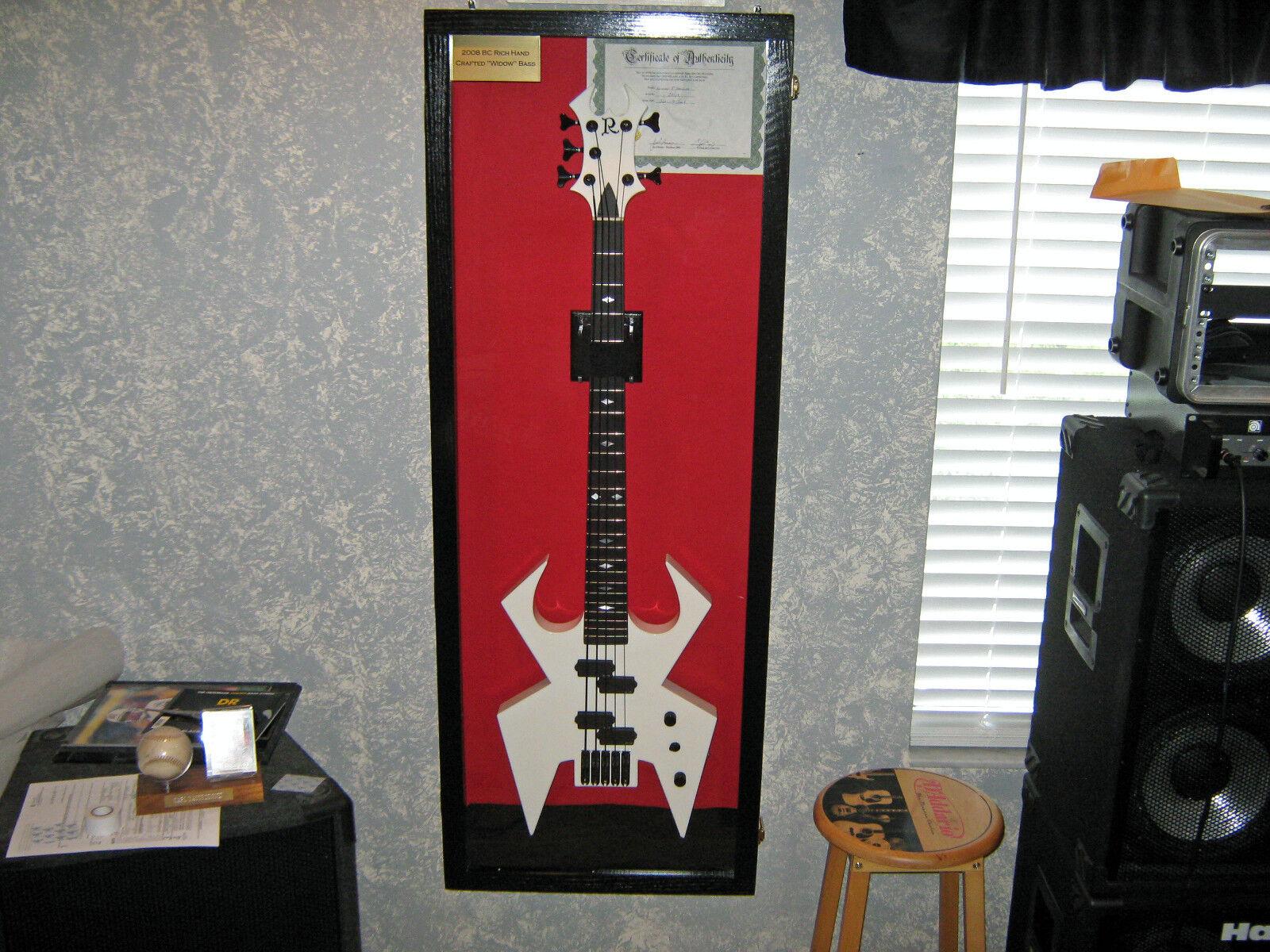 Guitar Display case   Solid hardwood Strat  gibson electric guitar Wood Case  RF