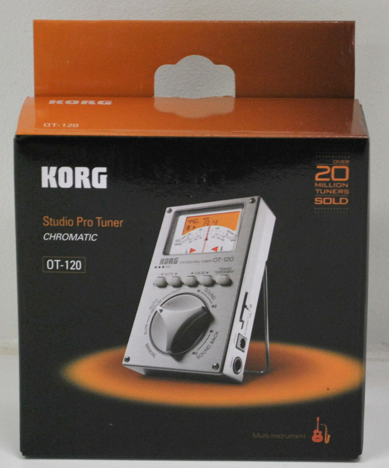 NEW KORG OT120 ORCHESTRAL TUNER WITH BUILT IN MICROPHONE