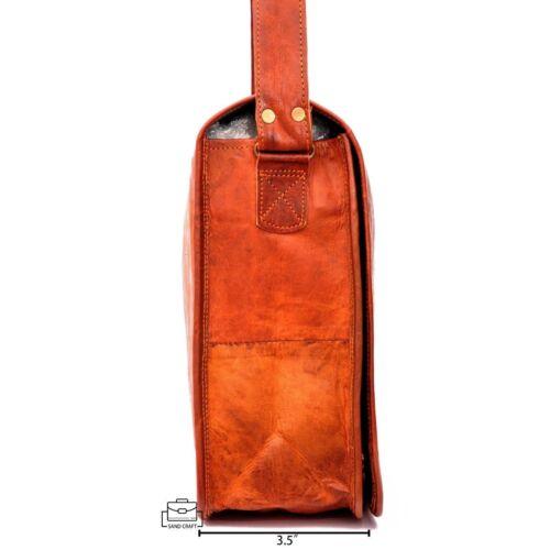 Tasche Umhängetasche Leder Lehrertasche Aktentasche Schultasche Spitze Vintage BvqI6Zxv