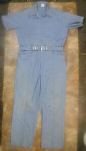 Size 48 Original 1970s White British Men/'s Overalls by /'Faithful/'