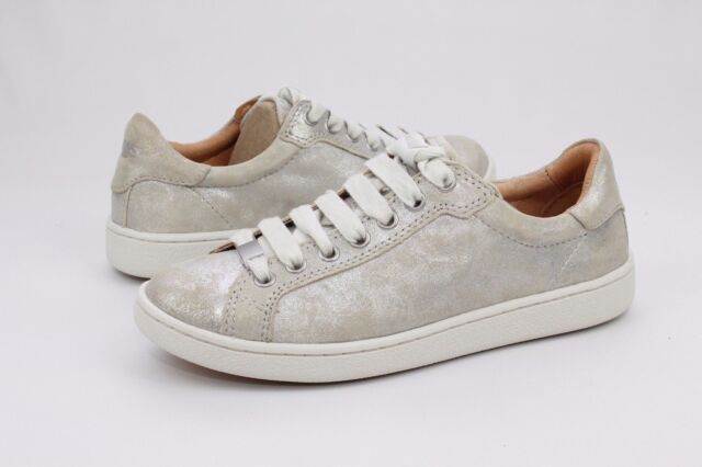 3b56f6bcbc9 UGG Australia Milo Stardust SNEAKERS Shoes Lace up Metallic Women 1019219  Sz 6